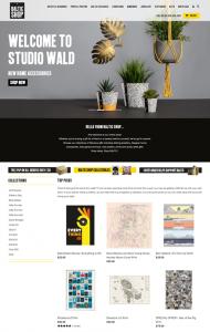 Screenshot of Baltic Shop website