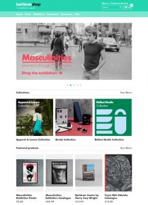 Screenshot of Barbican Centre website