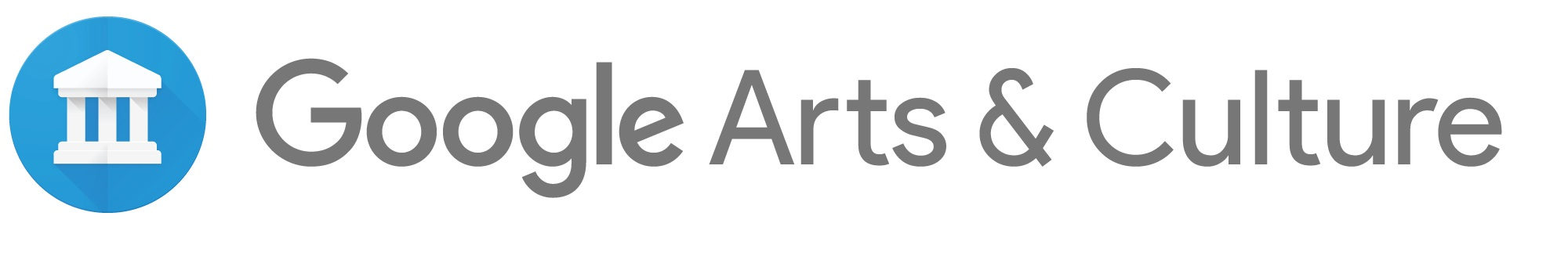 Google Arts & Culture long logo